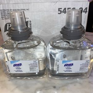 Case of 4 Purell advanced Hand Sanitizer Foam